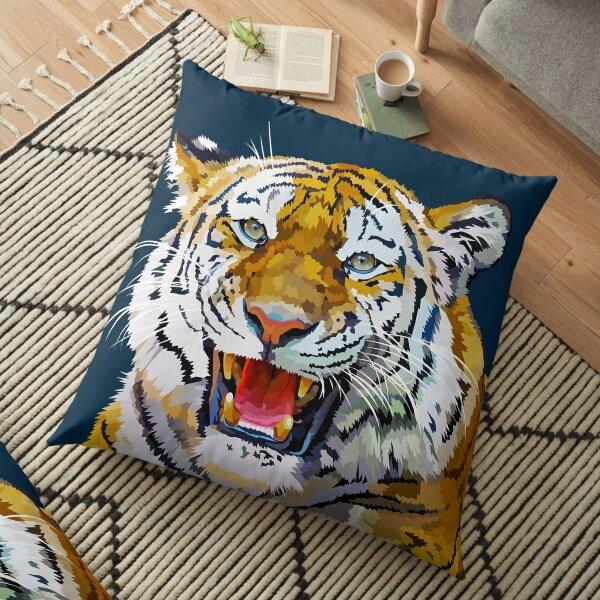 Roaring tiger Floor Pillow