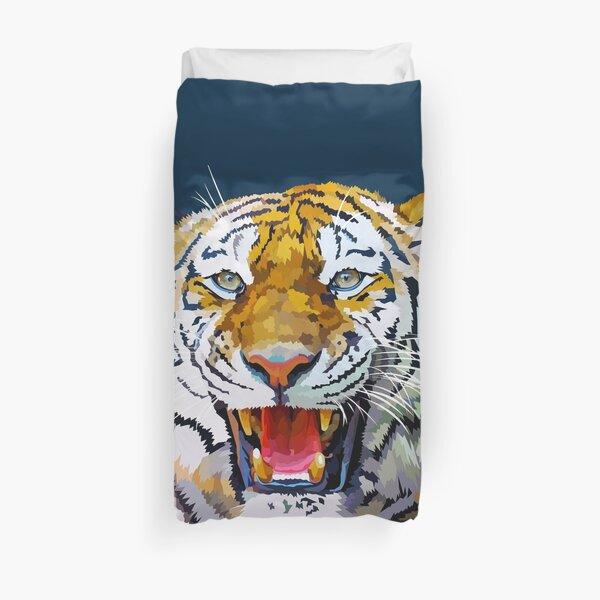 Roaring tiger Duvet Cover