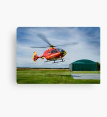 Helecopter Heroes Canvas Print
