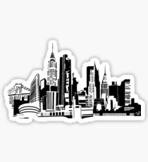 Pegatina NYC Landmarks by Tai's Tees