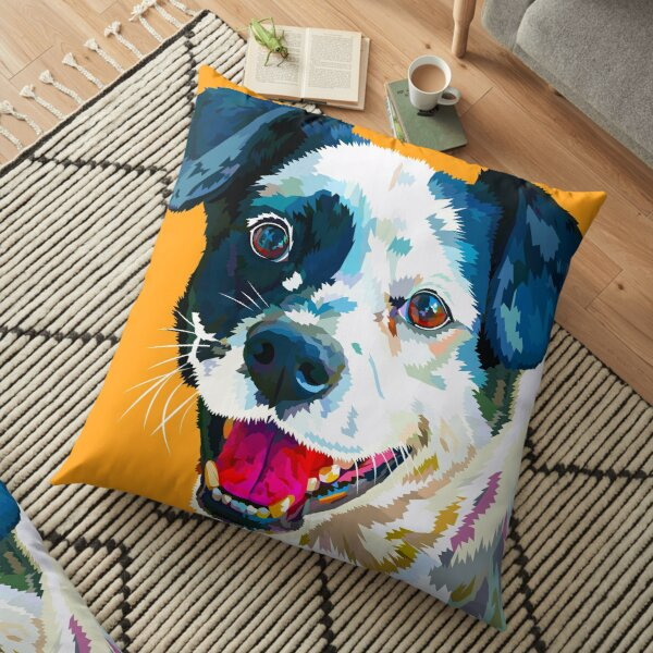 Happy Dog - Your Loyal Friend Floor Pillow