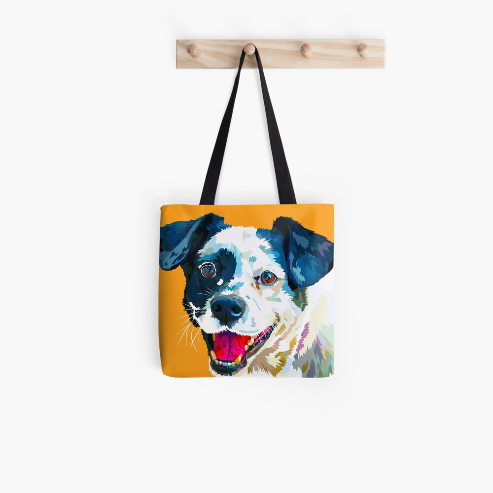 Happy Dog - Your Loyal Friend Tote Bag
