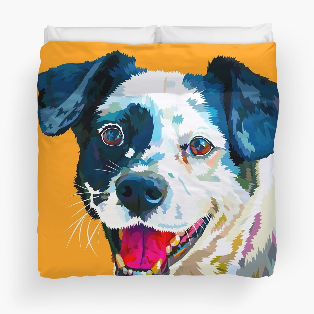 Happy Dog - Your Loyal Friend Duvet Cover