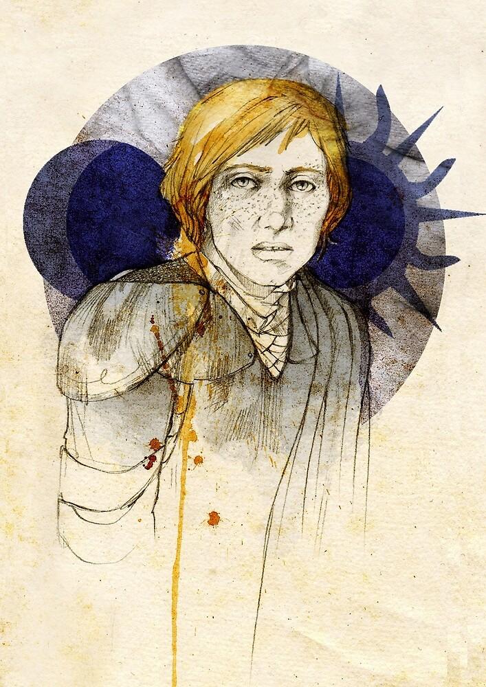 Brienne of Tarth by Elia Mervi