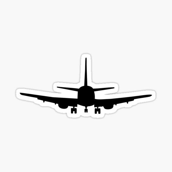 Plane aviation Sticker