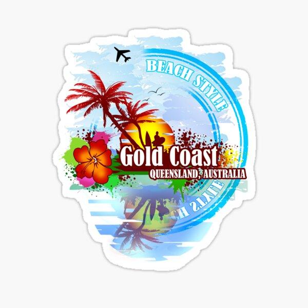Gold Coast Queensland, Australia Sticker
