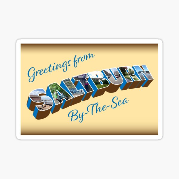 NDVH Greetings from Saltburn-by-the-Sea Sticker