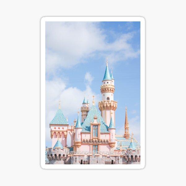 Afternoon Castle Sticker