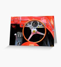 Mille Miglia 2010 Greeting Card