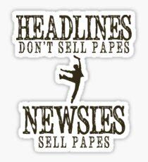 Was macht eine Schlagzeile gut? Sticker