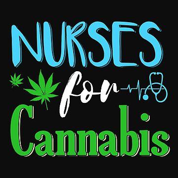 Marijuana Cannabis Nurse CBD Oil Supporter Awareness Shirt by normaltshirts
