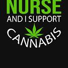 Marijuana Cannabis Support Proud Nurse Cure Awareness Shirt Nurse by normaltshirts