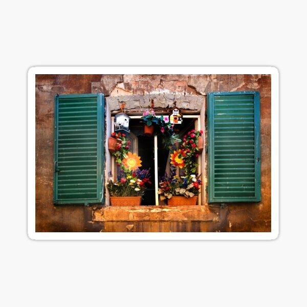 Tuscan window - Siena Sticker