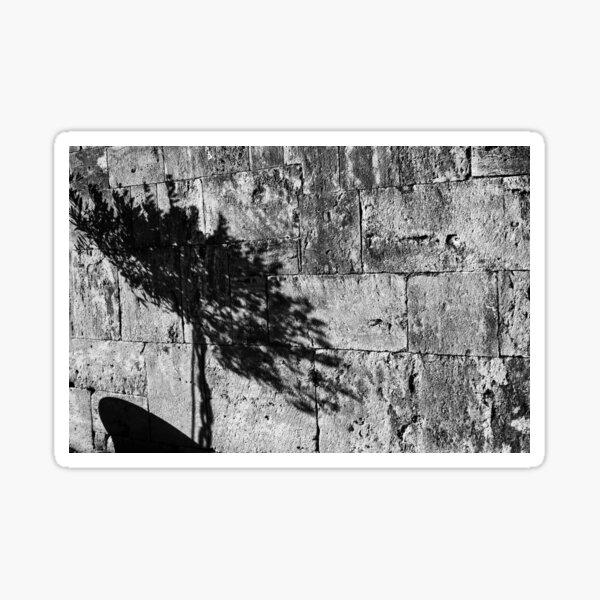 Shadow - San Gimignano, Tuscany, Italy Sticker