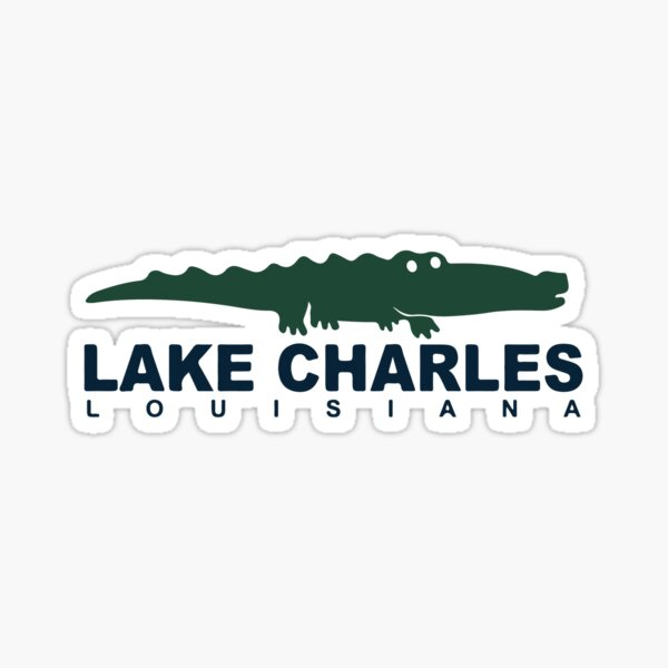North Beach - Lac Charles. Sticker
