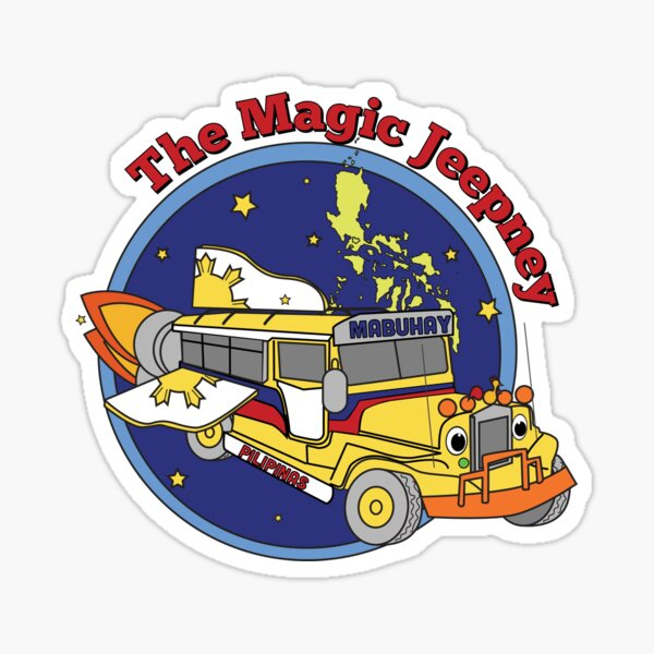 The Magic Jeepney Sticker