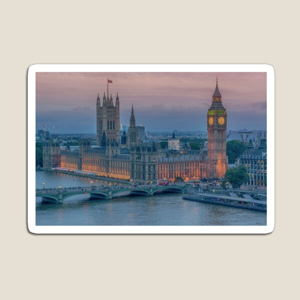 Houses of Parliament, London Magnet