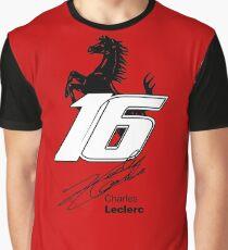 Charles Leclerc Vom Anfänger zum Meisterschaftskandidaten Grafik T-Shirt