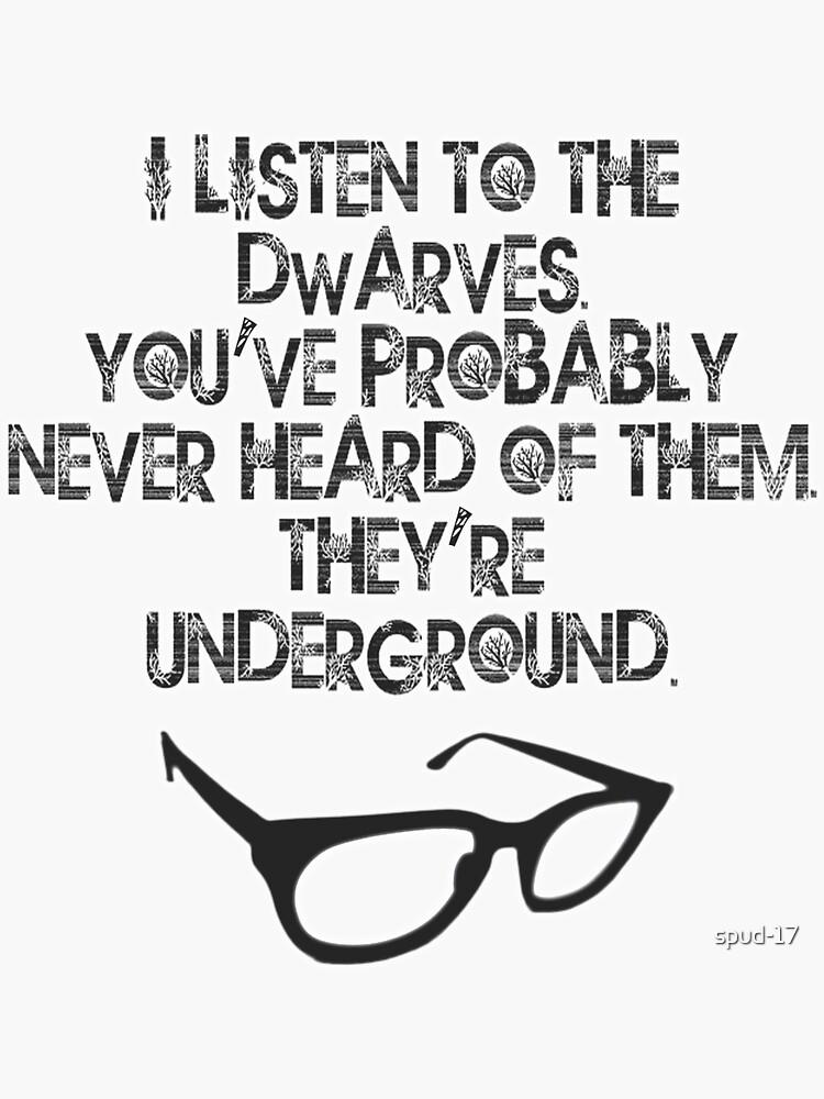 Underground Dwarves! von spud-17