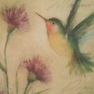 Hummingbird Greeting by Tiffany Reed