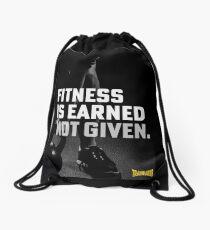 Fitness wird nicht verdient vergeben Turnbeutel