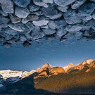 Rocky Skies at Lake Louise by George Wheelhouse