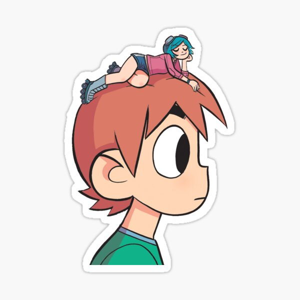 Ramona on the Mind Sticker