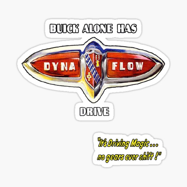 Buick Dynaflo Sticker