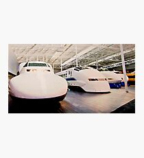 Bullet Trains Photographic Print