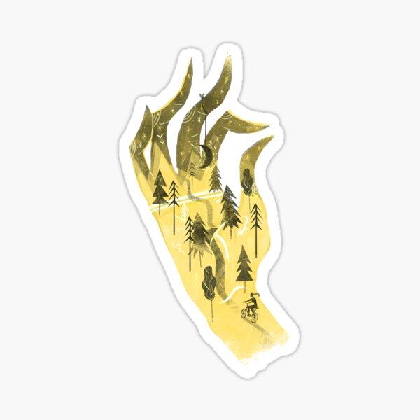 Handsy Sticker