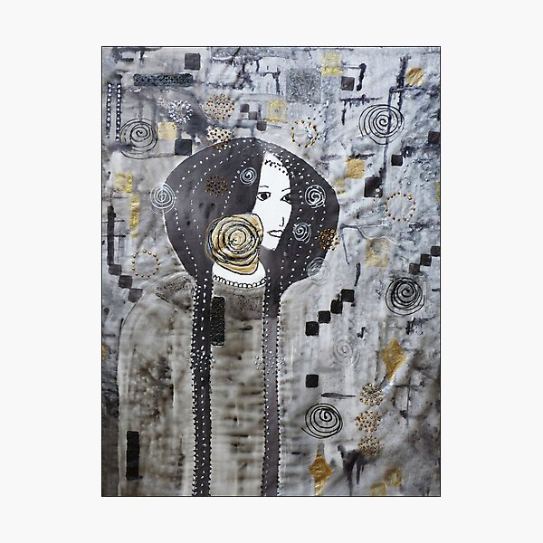 Inspired by Klimt Photographic Print