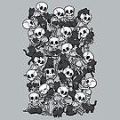 Cat Skull Party by tobiasfonseca