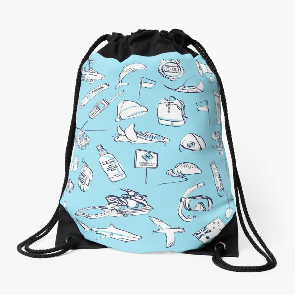 Bondi Rescue Drawstring Bag