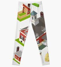 Isometric Great American Barn Set Leggings
