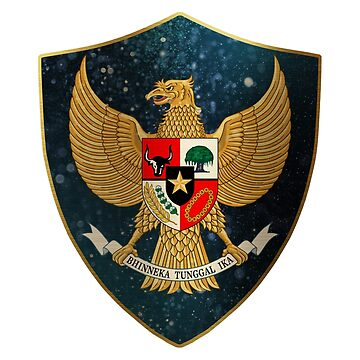 Indonesia Coat of Arms by ockshirts