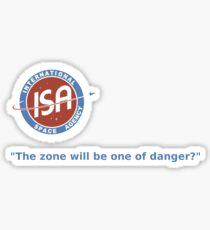 ISA Sticker