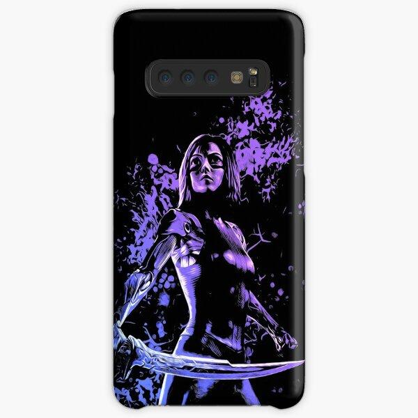 Fight Angel Purple 1 Samsung Galaxy Snap Case