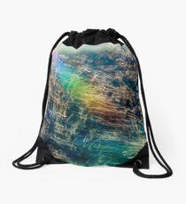 Rainbow Grass Three Drawstring Bag