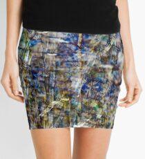 Rainbow Grass Five Mini Skirt