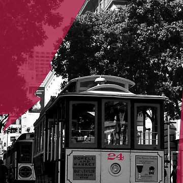 San Francisco Cable Car by Vanpinni