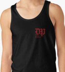 The DP Square Red Logo Tank Top