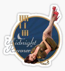 Midnight Runner Sticker