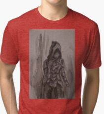 Nightingale Armour Watercolour Tri-blend T-Shirt