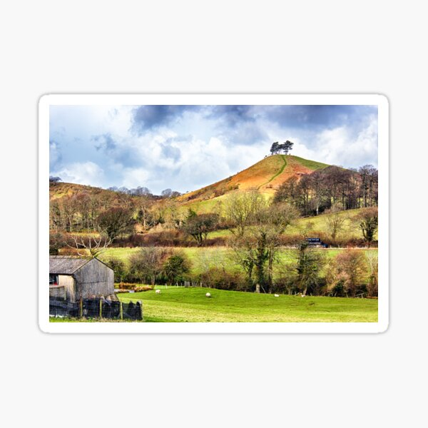 Colmers Hill Landscape Sticker