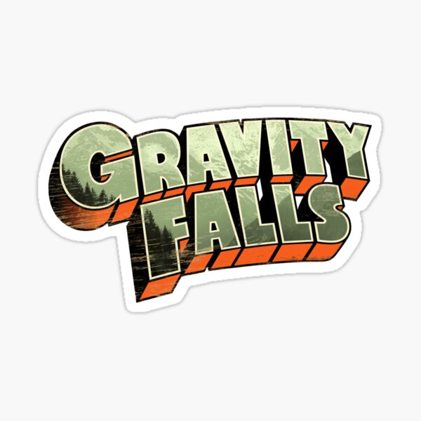 Gravity Falls Sticker
