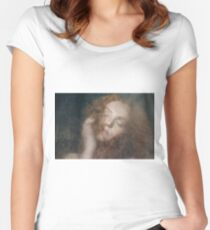 Ivory Flame - Brass Two  Women's Fitted Scoop T-Shirt