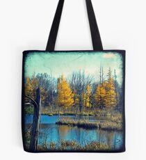 Wetlands Through The Viewfinder Tote Bag