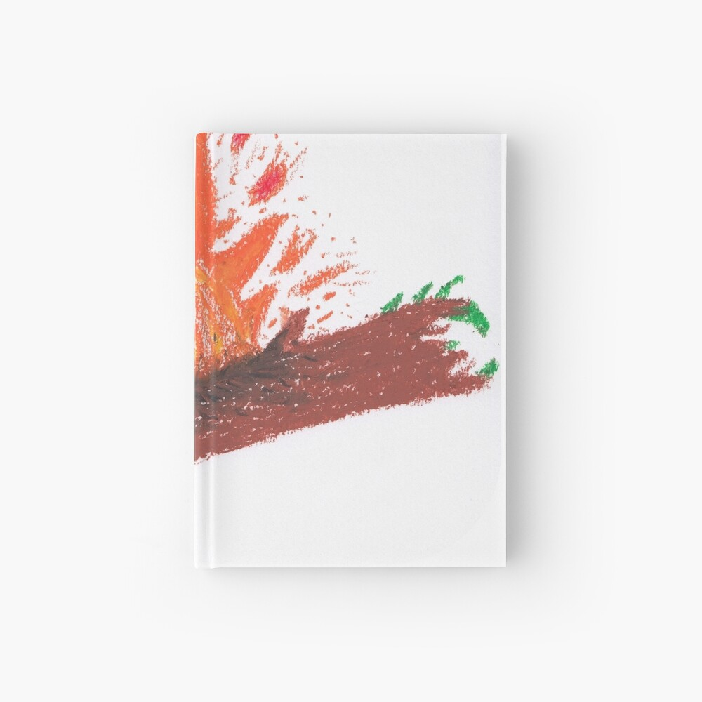 Merch #23 -- Log On Fire Hardcover Journal