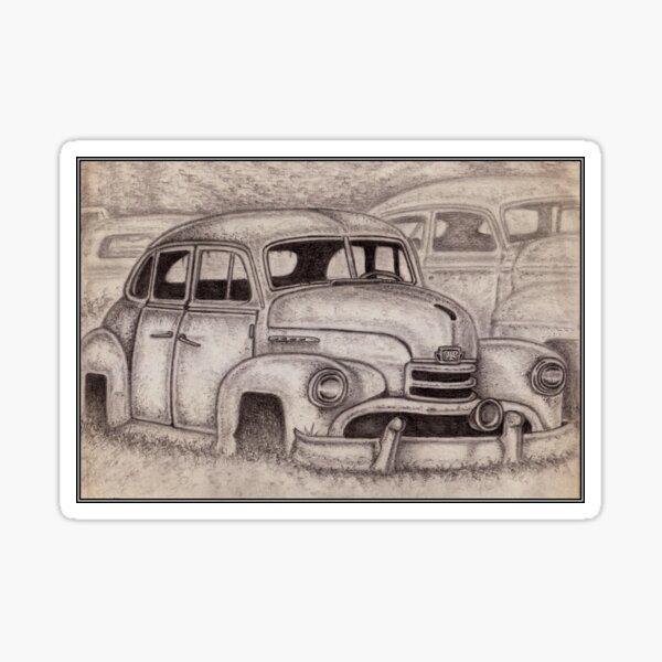 Opel 'Kapitan' 1953 Sticker