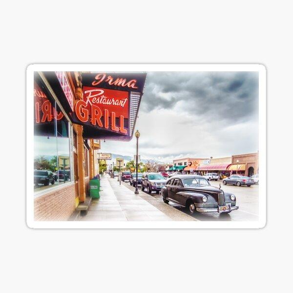 Downtown Cody Sticker